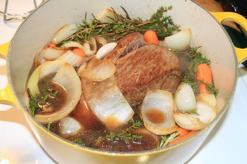 Pot Roast with Rosemary and Thyme